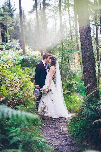 Jesse Knibbs Photographer - Lake District Wedding in woods