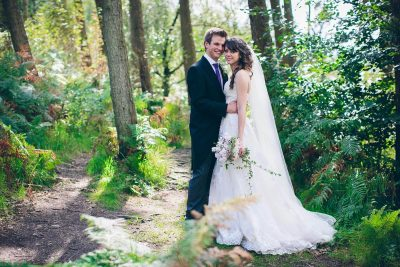 Jesse Knibbs Photographer - Lake District Wedding in forest