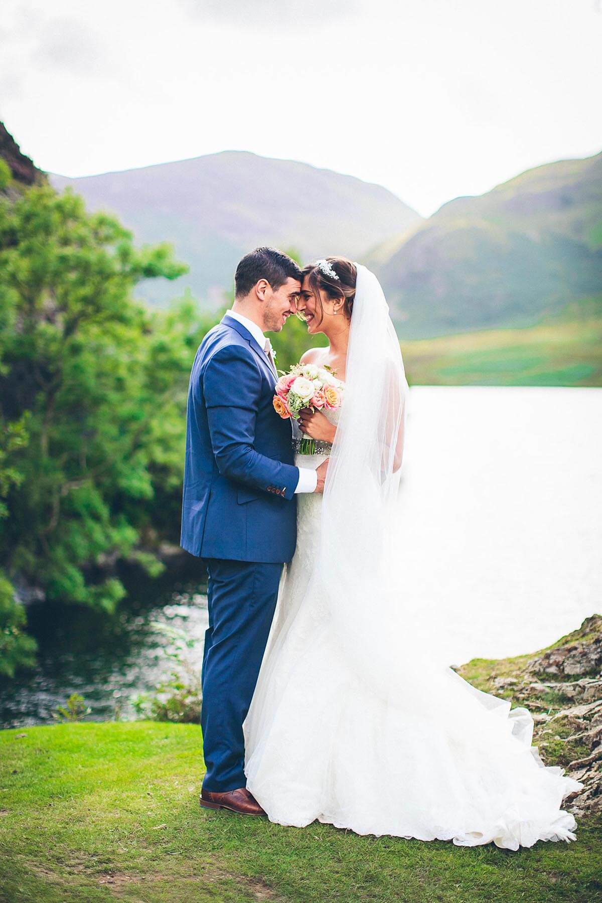 Jesse Knibbs Photographer - Lake District Wedding mountains and lake