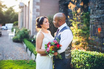 Jesse Knibbs Photographer - Lake District Wedding in garden