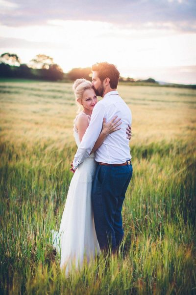 Jesse Knibbs Photographer - Lake District Wedding in field